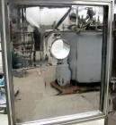 USED: Italvacuum vacuum shelf dryer, model EO2, approximately 9 square feet, 316 stainless steel. (4) 19-3/8