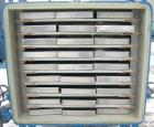 Used- Stokes Vacuum Shelf Dryer, Model 138-H, Approximately 97.6 Square Feet, Carbon Steel. (8) 44