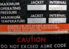 USED: Stokes vacuum shelf dryer, model 338-B-2, 8 square feet, 304 stainless steel. (3) 24