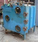 USED: Stokes vacuum shelf dryer, approximately 48.9 square feet, carbon steel. (4) 44