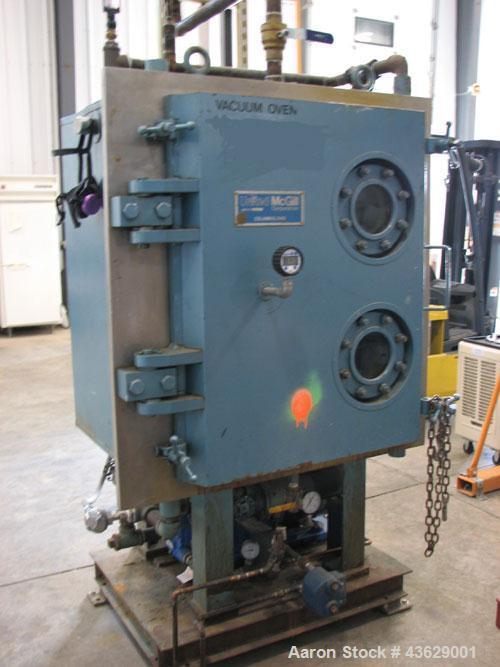 Used- United McGill Vacuum Shelf Dryer, Model 3B
