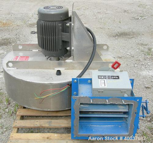 Used- Farr Tenkay Cartridge Type Pulse Jet Dust Collector, 2,820 Square Feet Filter Area, Model 10D, Carbon Steel. 4000 prec...