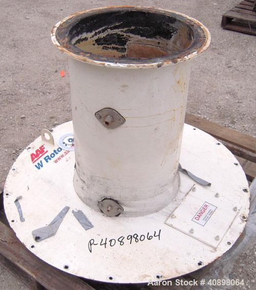 """Used- AAF International Rotoclone Wet Centrifugal Collector, Model W, Size 16, Style STD, Model 846493-5. 6400 cfm at 8"""" W.G..."""