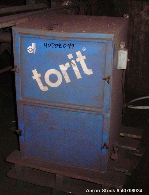 Used-Torit Model 84 Cabinet Dust Collector with a 3 hp, 3450 rpm motor.  Capacity rating of 1231 cfm with 150 square feet fi...