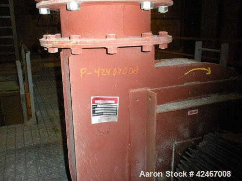 Used- Mikro-Pulsaire Pulse Jet Dust Collector. 9 Valve manifold, 6' diameter, approximately 9' high with 9 inlets, includes ...