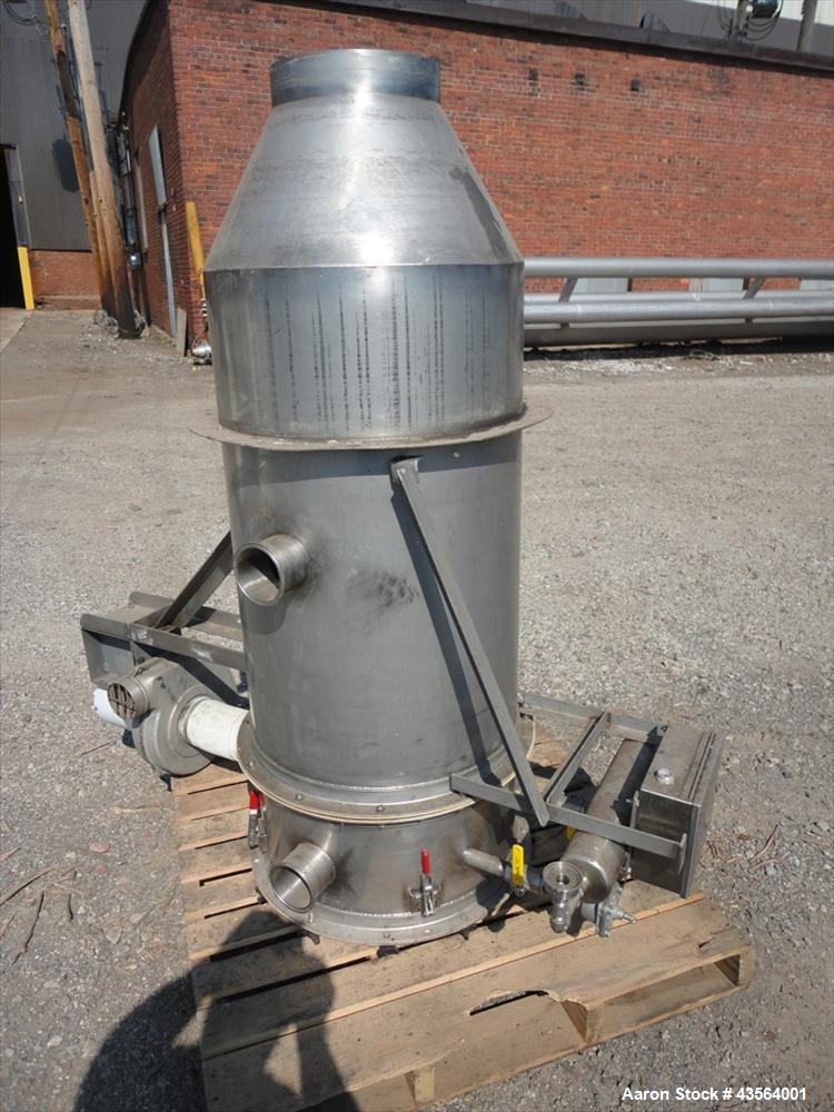 Used- Stainless Steel Bin Vent Dust Collector