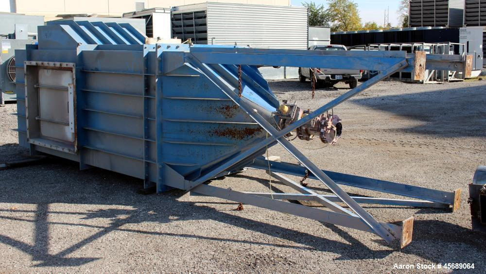 Used- Pulse Jet Dust Collector, Carbon Steel