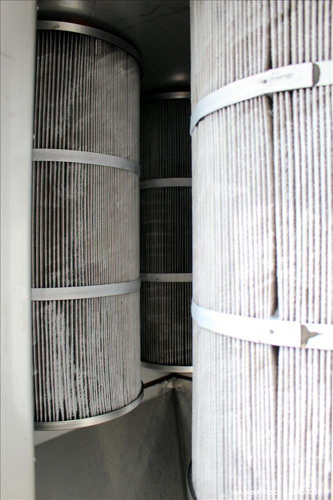 Used- Pulse Jet Dust Collector, 304 Stainless Steel.