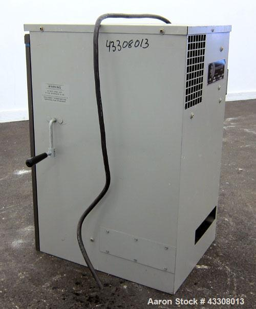 Used- American Air Filter Arrestall Envelope Type Dust Collector, Model AR-10, Carbon Steel. Manual shaker with blower. 1/60...