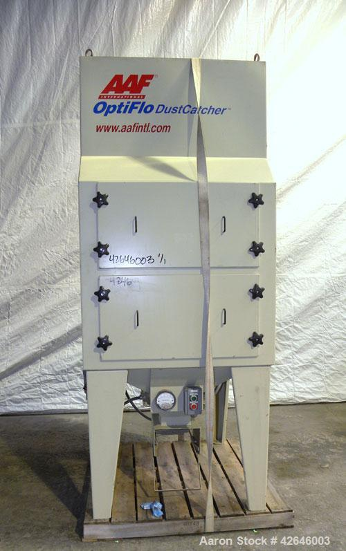 Used- AAF OptiFlo DustCatcher Cartridge Type Pulse Jet Dust Collector, model DC4, size DC4-460T05S04PS00, carbon steel. 660 ...