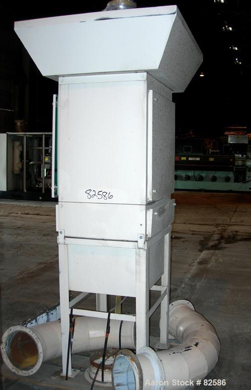 USED: Aercology modular media filter mist dust collector, model PDV20-03, carbon steel. Approximate 126 square foot filter a...
