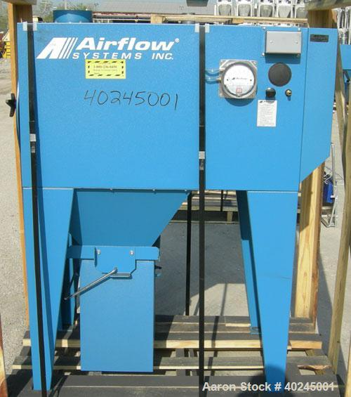 Used: Airflow Systems Inc Torit type, cartridge type dust collector, model DCH-2, approximate 300 square foot filter area, 1...