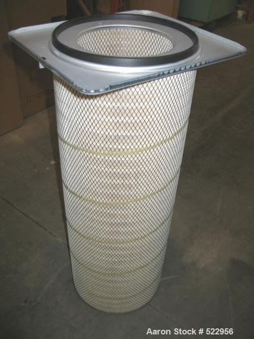 USED: 12,500 cfm Cantech cartridge dust collector, model 42CP-6RC, carbon steel. 42 cartridges per collector. Cartridges are...