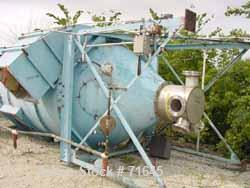 USED:Carter Day reverse jet dust collector, model 124RF6. 950 sq ftfilter area, carbon steel, approx 7000 cfm. Housing is ap...