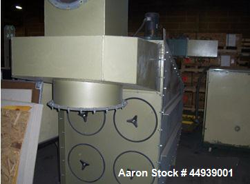 Used-Clemco Blast Room Facility, Model 114224.  7' Wide x 14' long x 8' high.  Includes the following:  Full media recovery ...