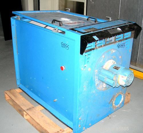 "Used- Coral Jet Clean Cartridge Type Dust Collector, Carbon Steel. (1) Approximately 12"" diameter x 26"" long filter. Top mou..."