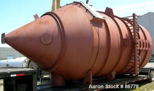 Carbon Steel CPE Filters Pulse Jet Dust Collector, Model 120-TFRW-242-C