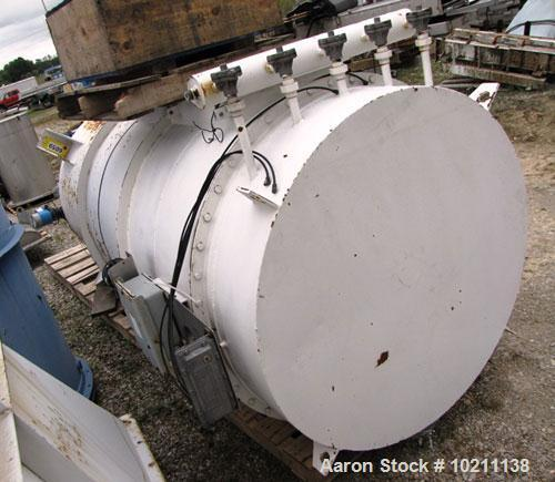 Used- Carbon Steel Environmental Filter Receiver Dust Collector, Model 84