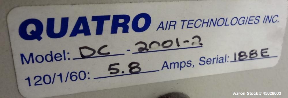 Used- Quatro Air Technologies Dust Collector, Model DC2001-2