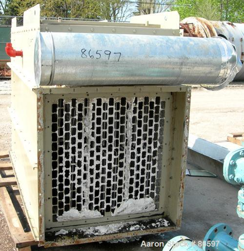 USED- DCE Dalamatic Automatic Reverse Jet Cased Dust Collector, Model DLM 1/2/15. 320 square feet filter area. Carbon steel ...