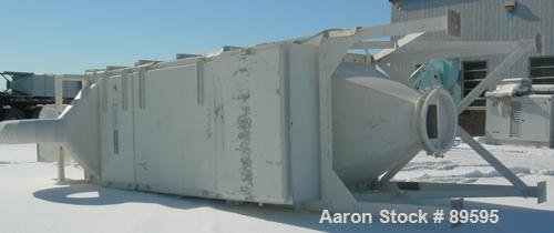 Used- Carbon Steel DCE Dalamatic Envelope Type Reverse Jet Dust Collector, Model DLM 1/3/10