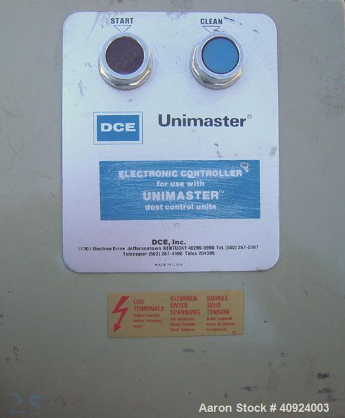 "Used-DCE Unimaster Envelope Type Dust Collector, Model UMA152G5SF, 150 square feet filter area. (18) 20"" x 27"" filters. Carb..."