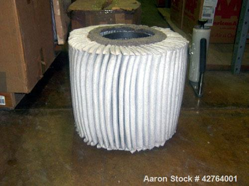 Used-Unused-Dollinger Elements filters for a fly ash conveyor blower, part #49-10K5. Quantity 22, still in boxes.