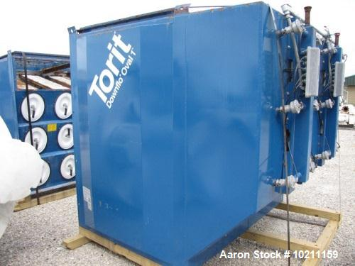 Used- Donaldson Torit Downflo Oval Cartridge Dust Collector, Model DFO3-48