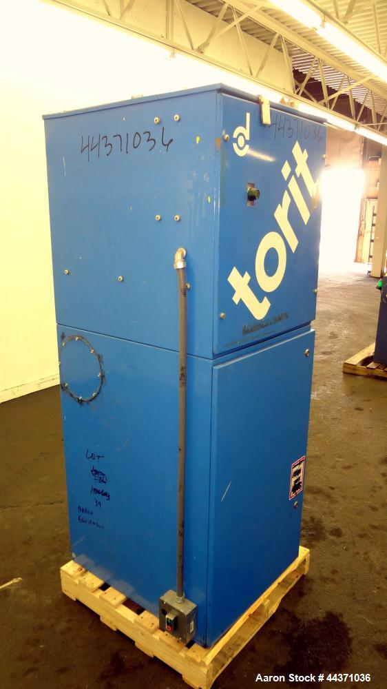 Used- Torit Vibra Shake Cartridge Type Dust Collector, Model VS1500, Carbon Steel. 177 Square feet filter area, 1500 cfm air...