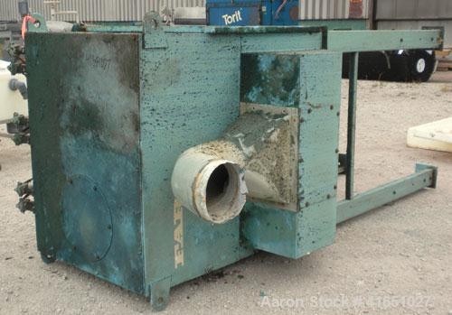Used- Farr Pulse Jet Dust Collector, 1464 square foot filter area, model 116786-12, carbon steel. 3000 airflow cfm. Housing ...