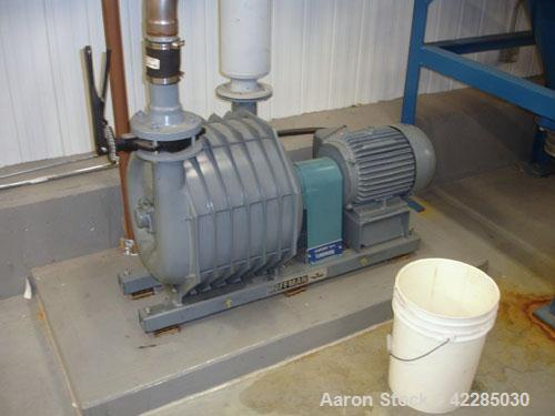 Used- Farr High Pressure Dust Collection System consisting of: Farr Model 2HV pulse jet dust collector, approximately 500 sq...