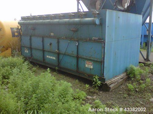 "Used-Tenkay / Farr Dust Collector, Size 60LL, Cartridge type. (60) pleated cartridges. 16,920 sqft media area. OAD: 180"" wid..."