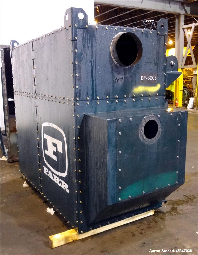 Used- Farr Pulse-Jet Dust Collector Model GS-8. Rated airflow 5000 scfm.
