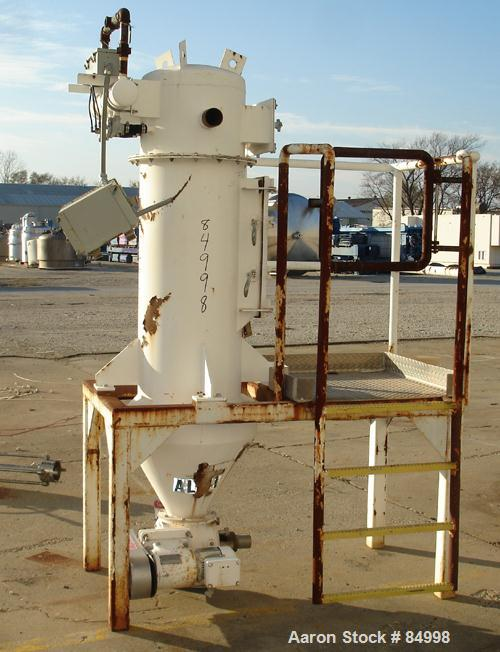 Used- Flex Kleen Pulse Jet Dust Collector, Model 20-PCBL-3 III, Carbon Steel. Approximately 11 square feet filter area. Hous...