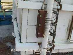 """Used- Flex-Kleen Pulse Jet Dust Collector, Model 340UDT100. 102"""" straight side x 91"""" cone x 91"""" cone extension. 15"""" x 15"""" bo..."""
