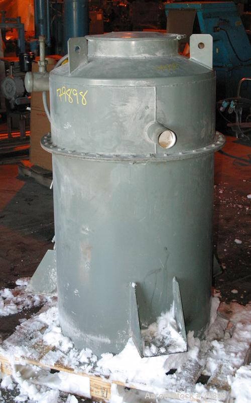 "USED: Flex Kleen dust collector, model 36-CT-8-III. 33 sq ft filterarea, 30"" diameter x 35"" straight side x 22"" cone, 8 filt..."