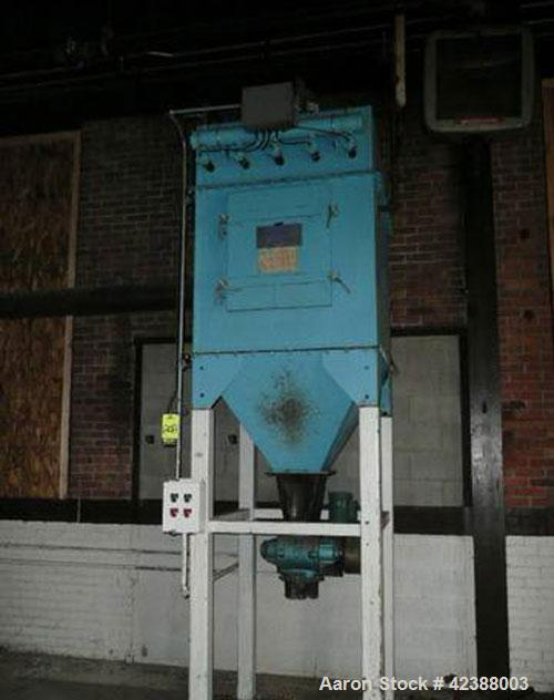 """Used-Flex-Kleen 36Bubs-25-Iii Bag House  8'H X 42""""L X 36""""W With 6"""" Dia. Rotary Valve & 1-Hp Motor 12-52-32044"""