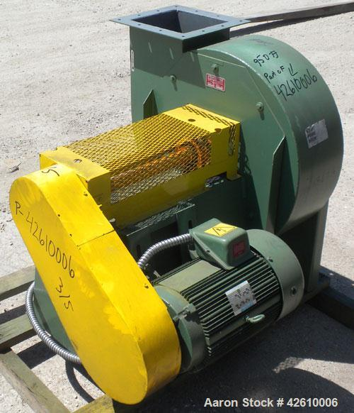 Used- Dust Containment System consisting of: (1) Flex-Kleen bin vent dust collector, model 58-BVS-III, carbon steel. Approxi...