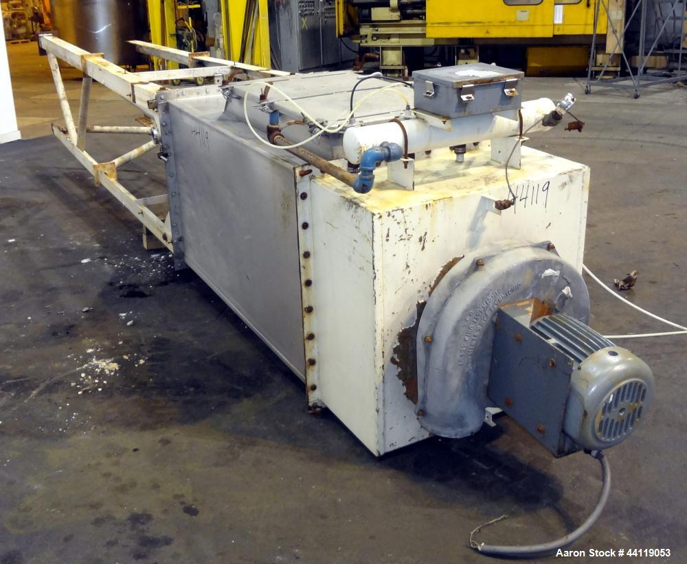 Used- Flex-Kleen Pulse Jet Dust Collector, Model 58BVB16 III, 316 Stainless Steel. Approximate 117 square feet filter area. ...