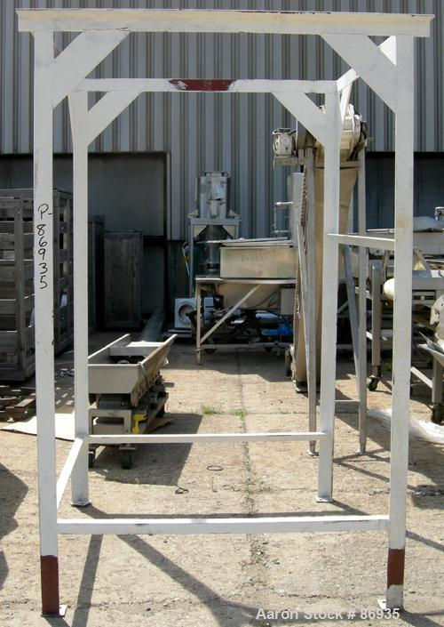 USED: Flex Kleen Pulse Jet Dust Collector, model 58CTS38I, carbon steel. Approximate 380 square foot filter area. Housing me...