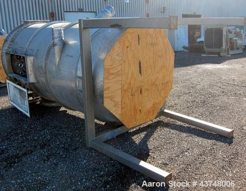 Used- Stainless Steel Flex Kleen Pulse Jet Dust Collector, Model 64-CTBC-54 IIIG
