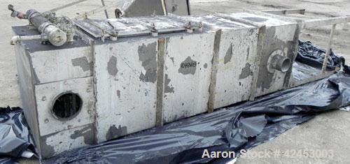 Used- Stainless Steel Flex Kleen Bin Vent Dust Collector, Model 84-BV-16-III