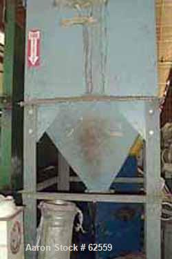 Used- Flex-Kleen Dust Collector, Model 84-BVBS-25. Has 25 bags, 265 square feet of filter area, holds 25 bags, bag length 84...