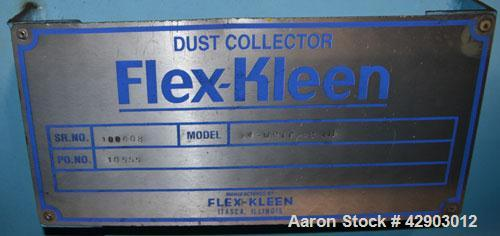 """Used- Flex-Kleen Pulse Jet Dust Collector, Model 84-WRTC-48-111, 509 Square Feet Filter Area. Carbon steel housing 48"""" long ..."""