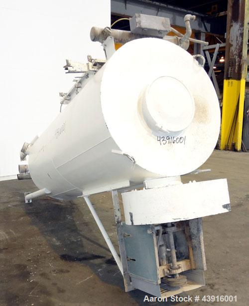 Used- Carbon Steel Flex-Kleen CT Series Pulse Jet Dust Collector, Model 84CT18