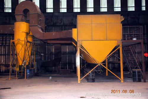 Used- GBI Air Systems Dust Collector, Model GS108, Carbon steel construction. System includes Qty (9) individual units. Rate...