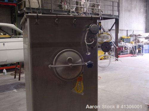 Unused-HAF Bin Vent Dust Collector, USDA stainless steel sanitary construction, model 58BV16TUD. 122 square feet of cloth, r...