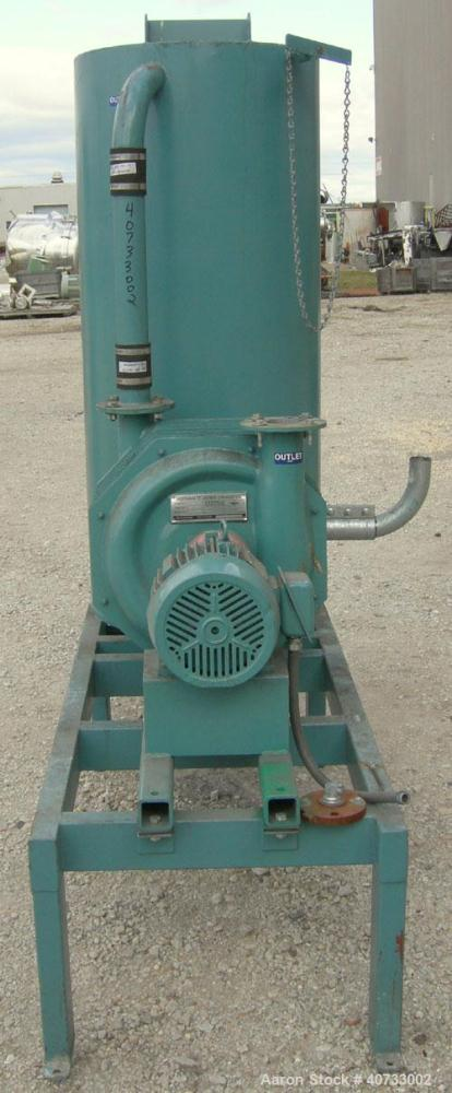 Used- Hoffman Stationary Self-Contained Industrial Vacuum System, model T-VAC-501-S1, carbon steel. Consists of (1) Hoffman ...