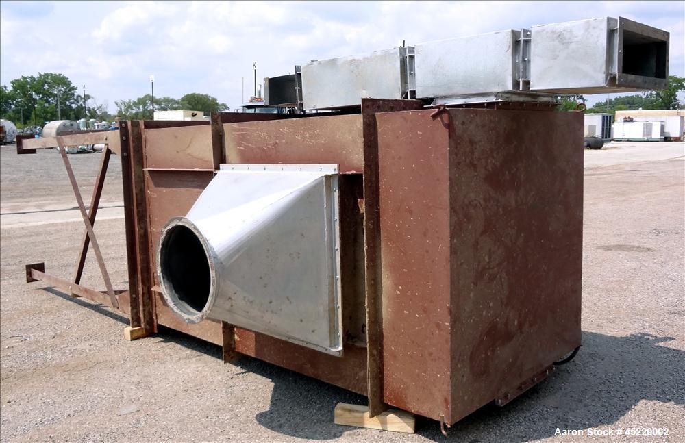 Used- Carbon Steel Hosokawa Mikro-Pulsaire Pulse Jet Dust Collector, Model 64S