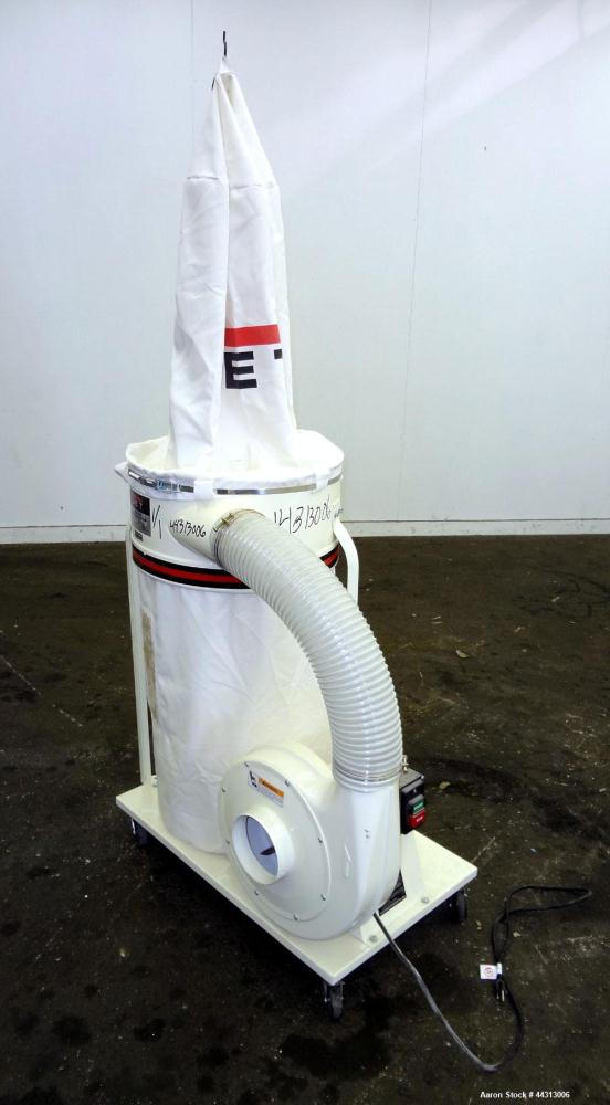 """Used- JET Dust Collector, Model DC-1100A, Carbon Steel. Approximately 1100 cfm. 20"""" Bag diameter, collection capacity 5.3 cu..."""